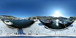 Балаклава: стоянка яхт зимой