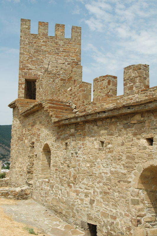 достопримечательности Крыма: Генуэзская крепость в Судаке